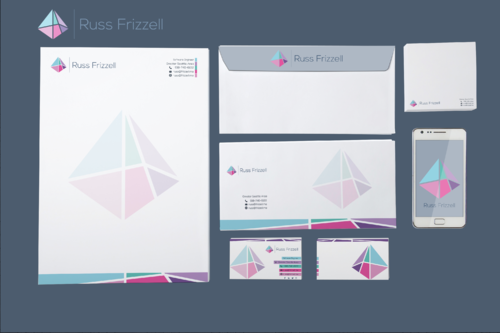 Russ Frizzell Business Cards and Stationery  Draft # 347 by ArtisticEffect15