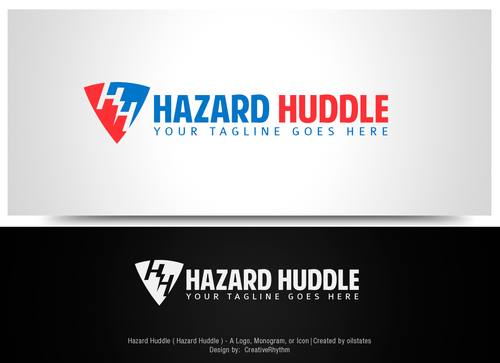 Hazard Huddle A Logo, Monogram, or Icon  Draft # 65 by CreativeRhythm