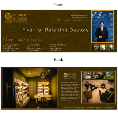 Flyer for Referring Doctors Marketing collateral  Draft # 11 by adizzz