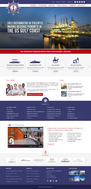 US Gulf Coast distributor of PolySpec Marine Products Complete Web Design Solution  Draft # 24 by pivotal