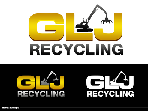 GLJ Recycling A Logo, Monogram, or Icon  Draft # 180 by alocelja