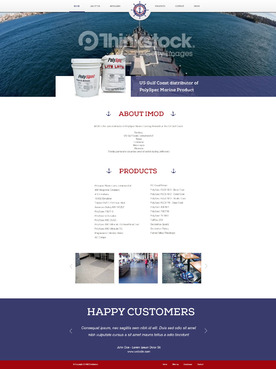 US Gulf Coast distributor of PolySpec Marine Products Complete Web Design Solution  Draft # 41 by eggtyegg