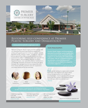 Flyer for Referring Doctors Marketing collateral  Draft # 20 by Achiver