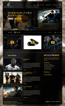 Martial Arts Television Network Complete Web Design Solution  Draft # 76 by hasan110
