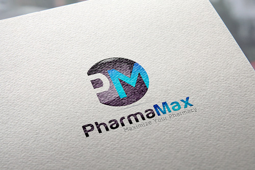 PharmaMax A Logo, Monogram, or Icon  Draft # 114 by Premkumar