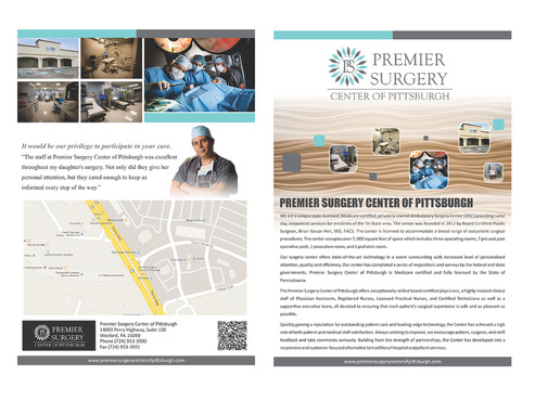 Flyer for Referring Doctors Marketing collateral  Draft # 21 by mevector