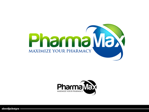 PharmaMax A Logo, Monogram, or Icon  Draft # 182 by alocelja