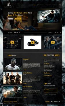 Martial Arts Television Network Complete Web Design Solution  Draft # 79 by hasan110