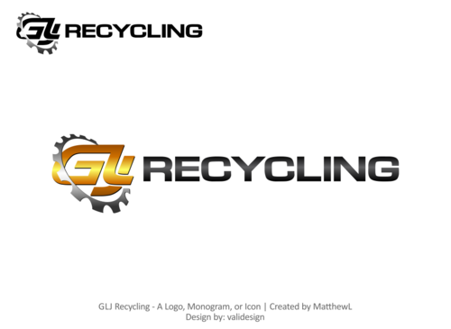 GLJ Recycling A Logo, Monogram, or Icon  Draft # 242 by validesign
