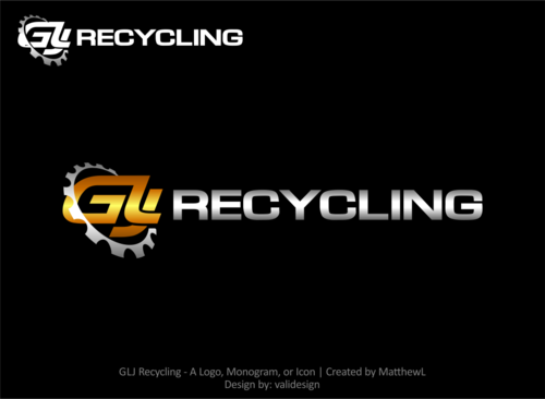 GLJ Recycling A Logo, Monogram, or Icon  Draft # 243 by validesign