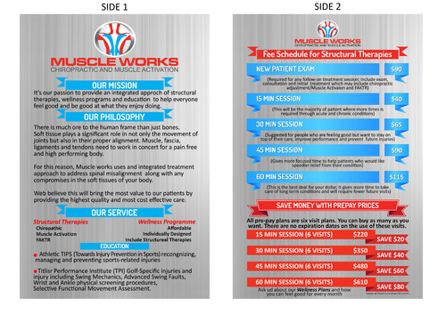Muscle Works Poster Other  Draft # 41 by yuhab123