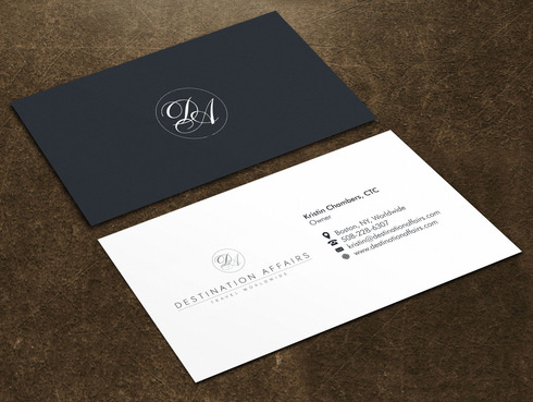 Destination Affairs, Inc. - Travel Worldwide Business Cards and Stationery  Draft # 1 by Xpert