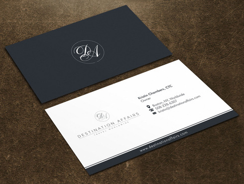 Destination Affairs, Inc. - Travel Worldwide Business Cards and Stationery  Draft # 10 by Xpert