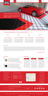 Epoxy coatings for concrete Complete Web Design Solution  Draft # 41 by nirmalcreation