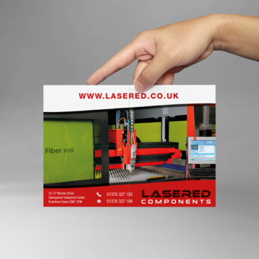 Lasered Components Marketing collateral  Draft # 1 by AsbeenDesign