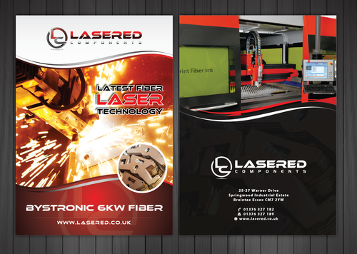 Lasered Components Marketing collateral  Draft # 11 by Achiver