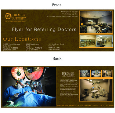 Flyer for Referring Doctors Marketing collateral  Draft # 34 by adizzz