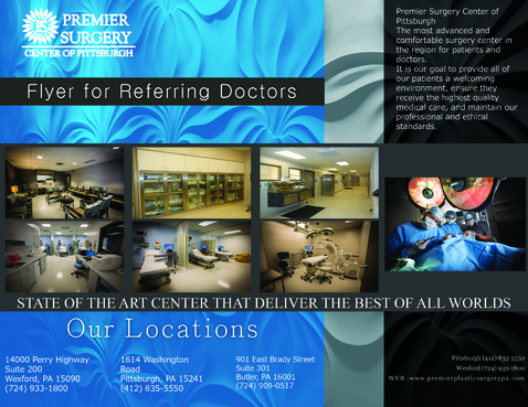 Flyer for Referring Doctors Marketing collateral  Draft # 35 by adizzz