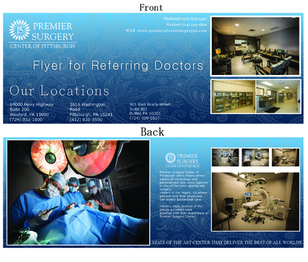 Flyer for Referring Doctors Marketing collateral  Draft # 36 by adizzz