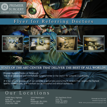 Flyer for Referring Doctors Marketing collateral  Draft # 37 by adizzz