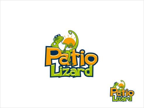Patio Lizard A Logo, Monogram, or Icon  Draft # 5 by thebullet