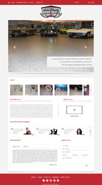 Epoxy coatings for concrete Complete Web Design Solution  Draft # 85 by nirmalcreation