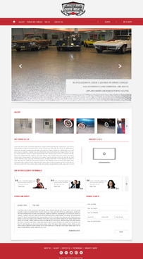 Epoxy coatings for concrete Complete Web Design Solution  Draft # 86 by nirmalcreation