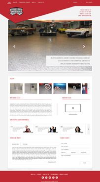 Epoxy coatings for concrete Complete Web Design Solution  Draft # 87 by nirmalcreation