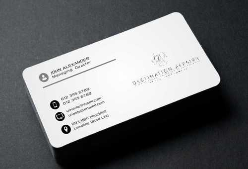 Destination Affairs, Inc. - Travel Worldwide Business Cards and Stationery  Draft # 339 by Dawson
