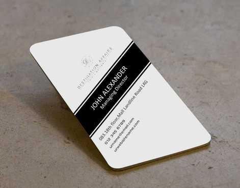 Destination Affairs, Inc. - Travel Worldwide Business Cards and Stationery  Draft # 340 by Dawson