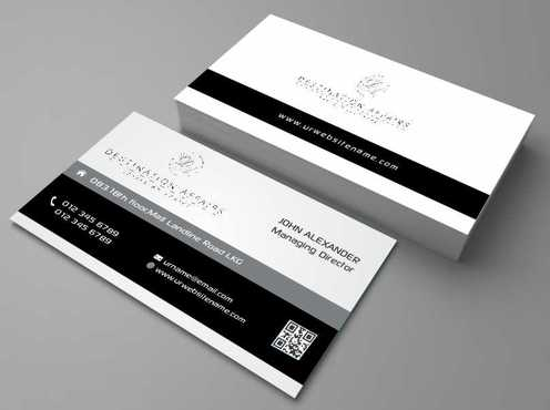 Destination Affairs, Inc. - Travel Worldwide Business Cards and Stationery  Draft # 342 by Dawson
