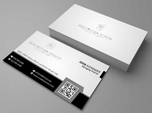 Destination Affairs, Inc. - Travel Worldwide Business Cards and Stationery  Draft # 350 by Dawson