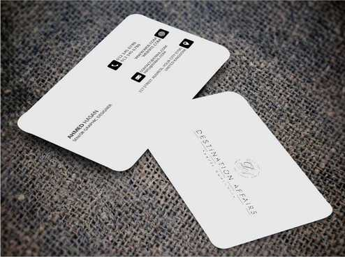 Destination Affairs, Inc. - Travel Worldwide Business Cards and Stationery  Draft # 353 by Dawson