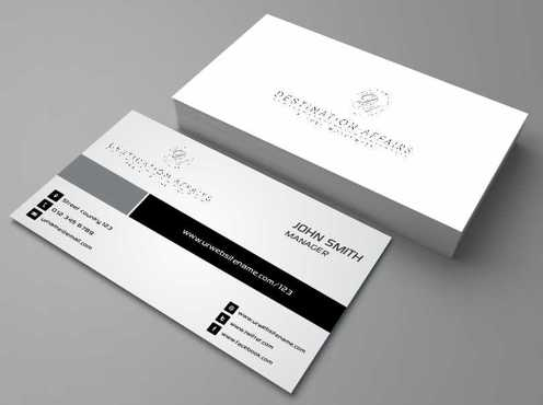 Destination Affairs, Inc. - Travel Worldwide Business Cards and Stationery  Draft # 354 by Dawson