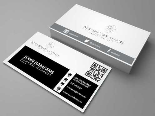 Destination Affairs, Inc. - Travel Worldwide Business Cards and Stationery  Draft # 355 by Dawson