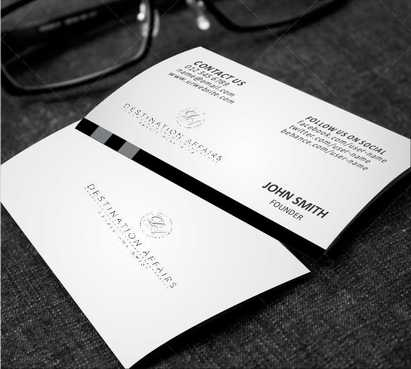 Destination Affairs, Inc. - Travel Worldwide Business Cards and Stationery  Draft # 356 by Dawson