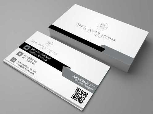 Destination Affairs, Inc. - Travel Worldwide Business Cards and Stationery  Draft # 361 by Dawson