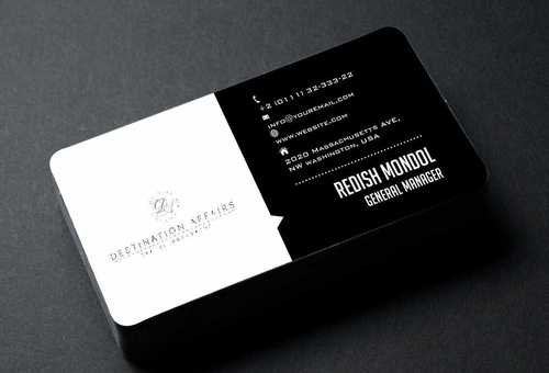 Destination Affairs, Inc. - Travel Worldwide Business Cards and Stationery  Draft # 363 by Dawson