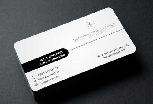 Destination Affairs, Inc. - Travel Worldwide Business Cards and Stationery  Draft # 364 by Dawson