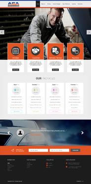 Marketing site Web Design  Draft # 54 by iLibartITServices