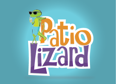 Patio Lizard A Logo, Monogram, or Icon  Draft # 11 by jeremymessent