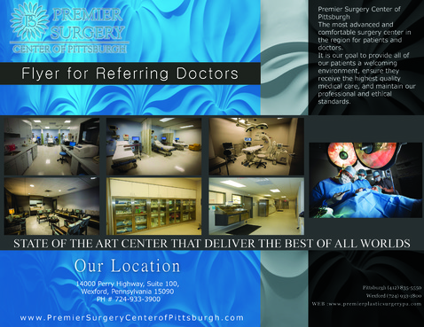 Flyer for Referring Doctors Marketing collateral  Draft # 38 by adizzz
