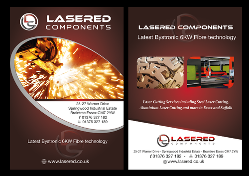 Lasered Components Marketing collateral  Draft # 18 by musammim97