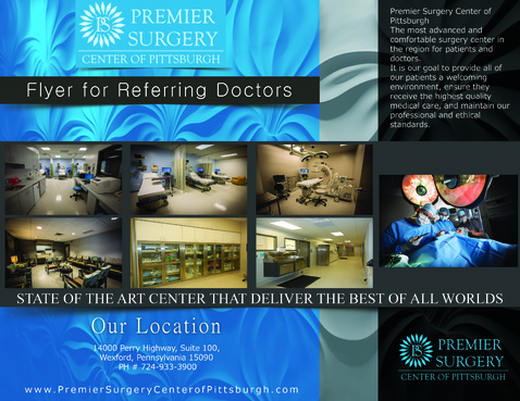 Flyer for Referring Doctors Marketing collateral  Draft # 39 by adizzz
