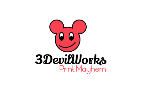 3DevilWorks A Logo, Monogram, or Icon  Draft # 1 by mazherali