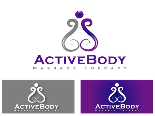 Active Body Massage Therapy A Logo, Monogram, or Icon  Draft # 3 by primavera