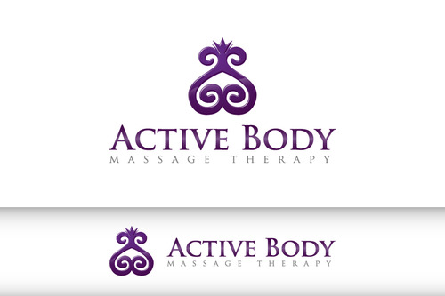 Active Body Massage Therapy A Logo, Monogram, or Icon  Draft # 4 by giddycardenas
