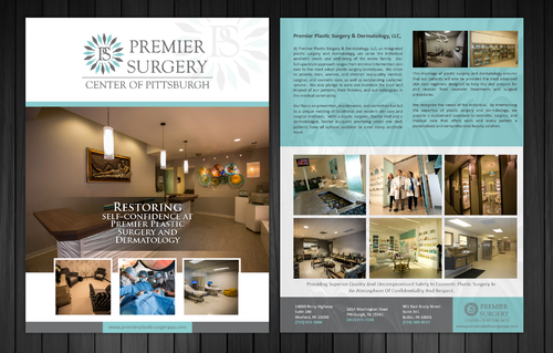 Flyer for Referring Doctors Marketing collateral  Draft # 40 by Achiver