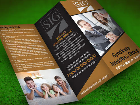 Syndicate Investors Group Marketing collateral  Draft # 5 by destudio