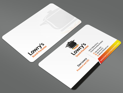 Lowry's Scorch Preventer Business Cards and Stationery  Draft # 12 by ArtworksKingdom